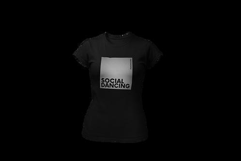 SOCIAL DANCING Reflective Women Shirt