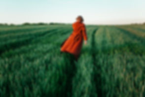 Woman in Field