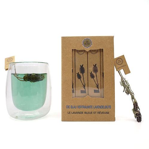 BIO die blau verträume Lavendelblüte (Tee) - 16 Stück