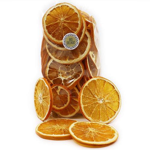 Orangen Chips mit Schale - 100g, 200g, 400g