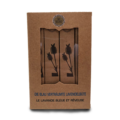 Die blau verträume Lavendelblüte (Bio) - 16 Stück