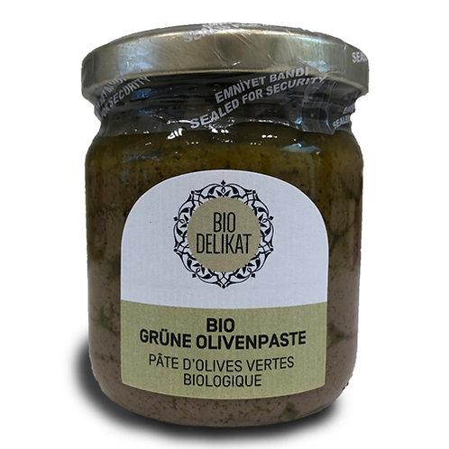 BIO grüne Olivenpaste - 195 g