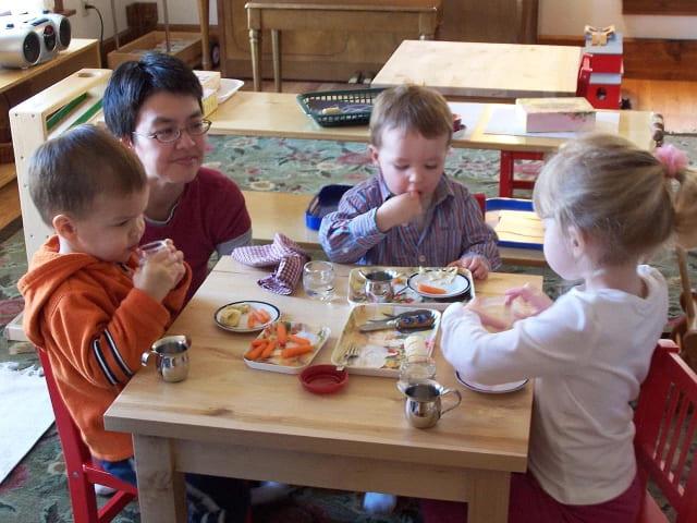Parent Child Class Snack