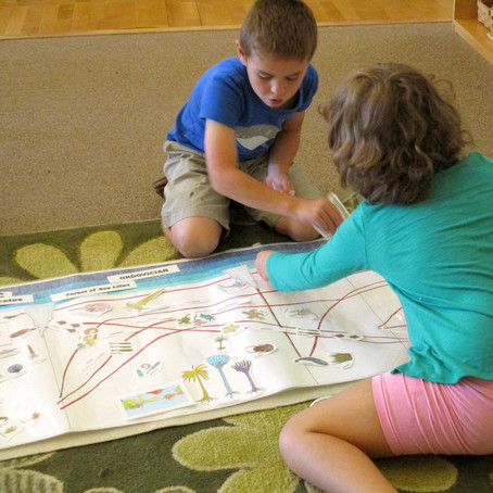 The Timeline of Life: A Quintessential (and really cool) Montessori Material