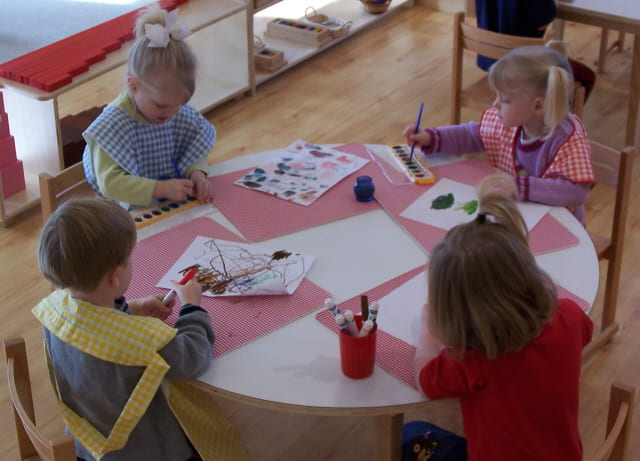 Primary Montessori Art Project