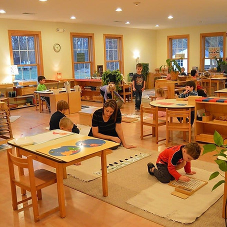 Work or Play? A Peek Inside the Montessori Classroom