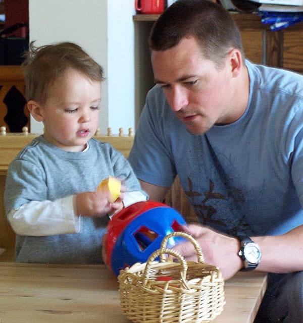 Parent Child Classes with dad