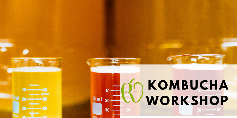 RD Nutrition Makers Series: What the F#@% is Kombucha anyway?