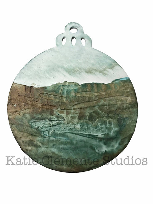 Coastal Landscape Ornament