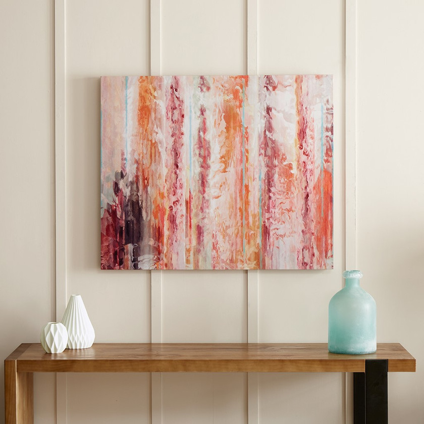Pink/Orange Wall Art