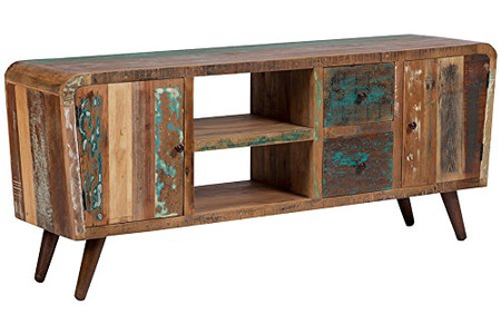 Boat Wood Console Table