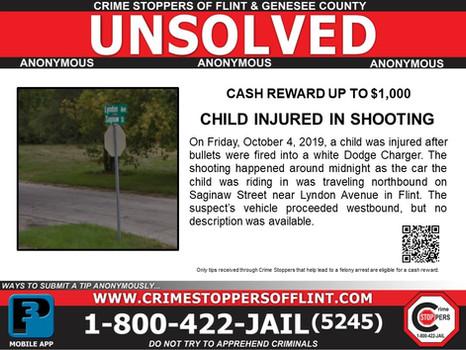Child Injured In Shooting