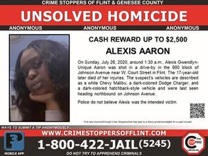 Alexis Aaron - Homicide