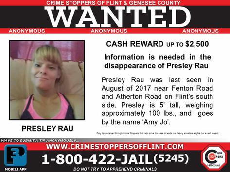 Presley Rau - Info needed