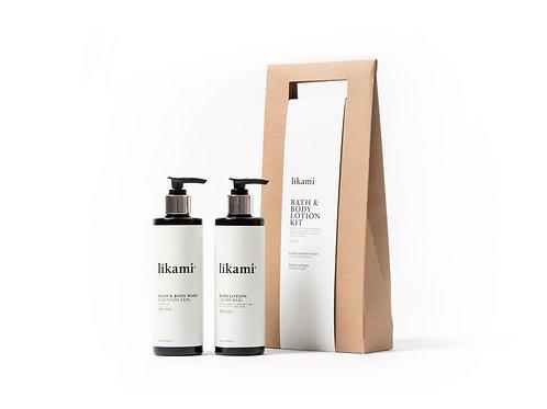 Bath & Body Lotion Kit