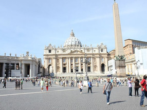 The Vatican! Grandest cathedral
