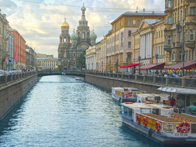 Want to go to St. Petersburg?