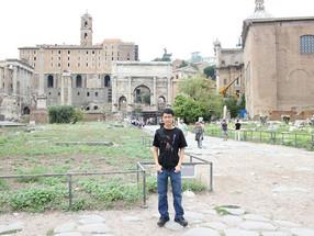Roman forums, Colosseum etc.