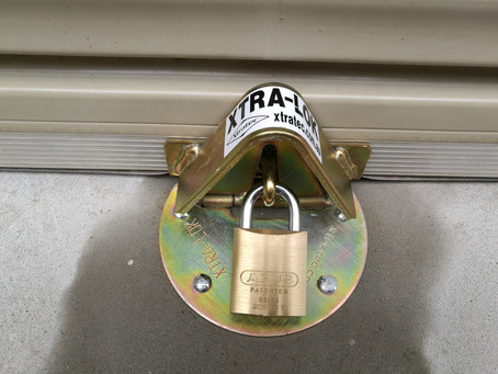 XTRA Locks for garages and roller shutters