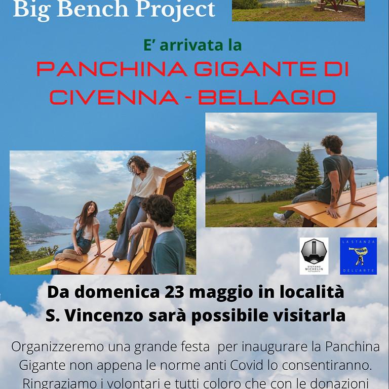 Panchina Gigante di Civenna - BELLAGIO