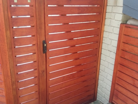 Gate Lock - Latch Install