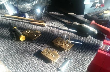 Making Keys to a Cabinet Lock