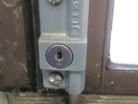 Glass Door Security