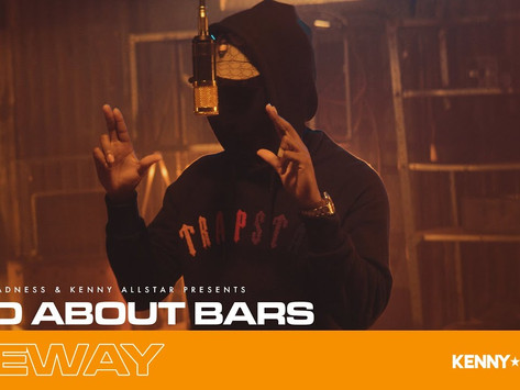 """Teeway Joins Kenny Allstar for a New """"Mad About Bars"""" Freestyle"""