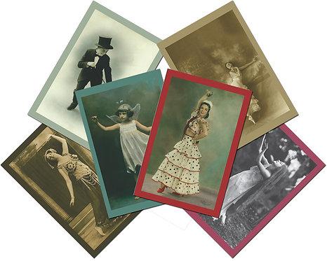 Vintage Dance Notecards