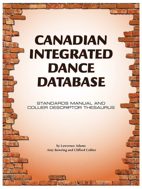 Canadian Integrated Dance Database - Manual