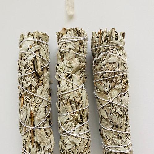 "White Sage Stick 7"""