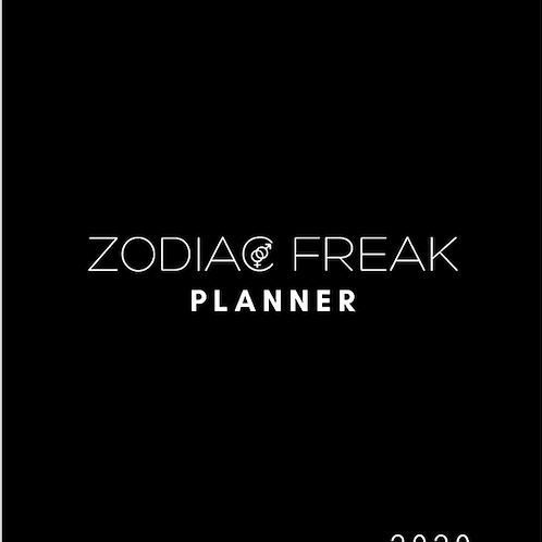 Zodiac Freak 2020 Planner (July-December)