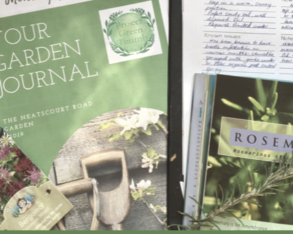 Why keeping a garden journal is a great idea and how to keep one.