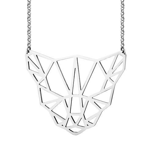 Подвеска тигр оригами из серебра STELLAR