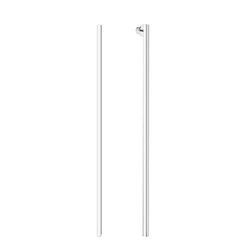 Длинные серьги палочки из серебра STELLAR