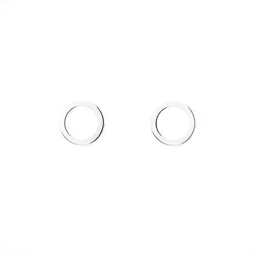 Гвоздики круги из серебра STELLAR
