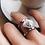 Thumbnail: Комплект украшений - кольцо и серьги Marble