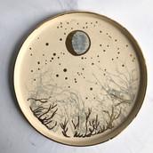 Crescent Moon Platter