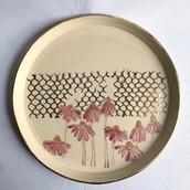 Coneflower Platter