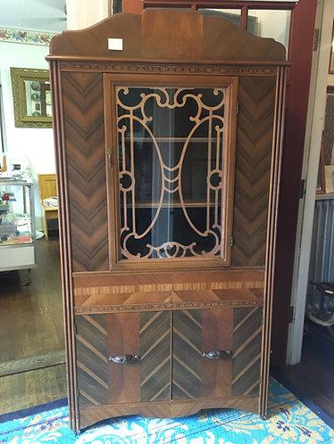 Curio Cabinet-Art Deco Era