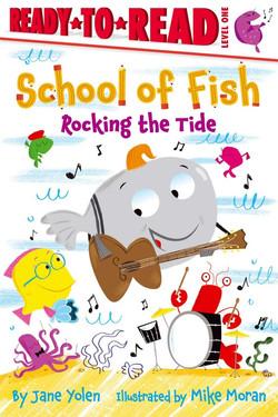 School of Fish Rocking the Tide