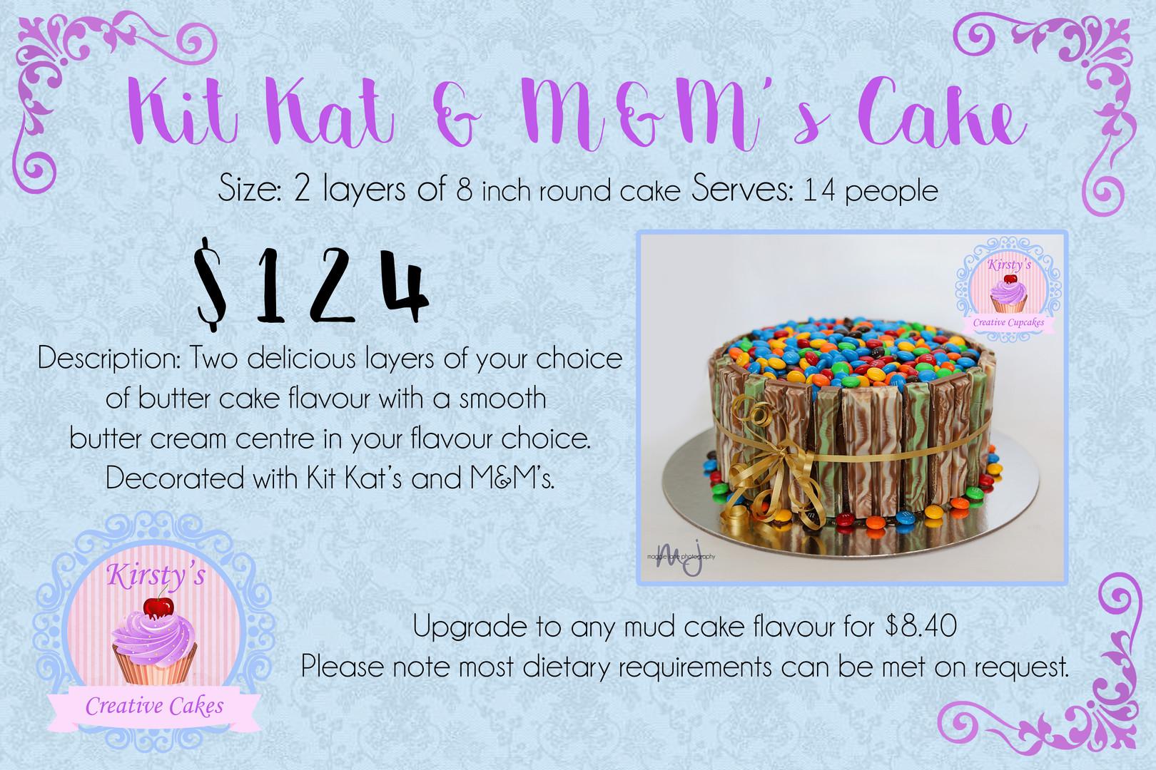 Kit Kat & M&M's