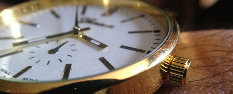 gouden horloge