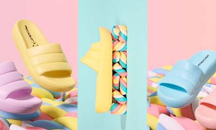 Com material 100% reciclável, Picadilly apresenta a coleção Marshmallow