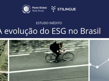 Estudo revela a evolução do ESG no Brasil