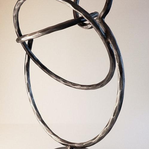 Sculpture Circles Black