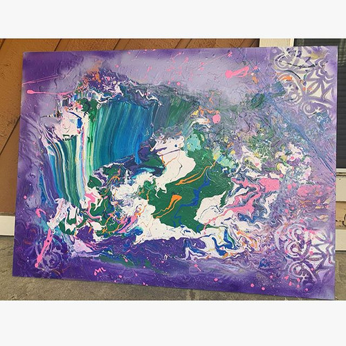 My #abstractart is part of my #spiritual