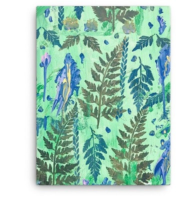 enchanted forest canvas art