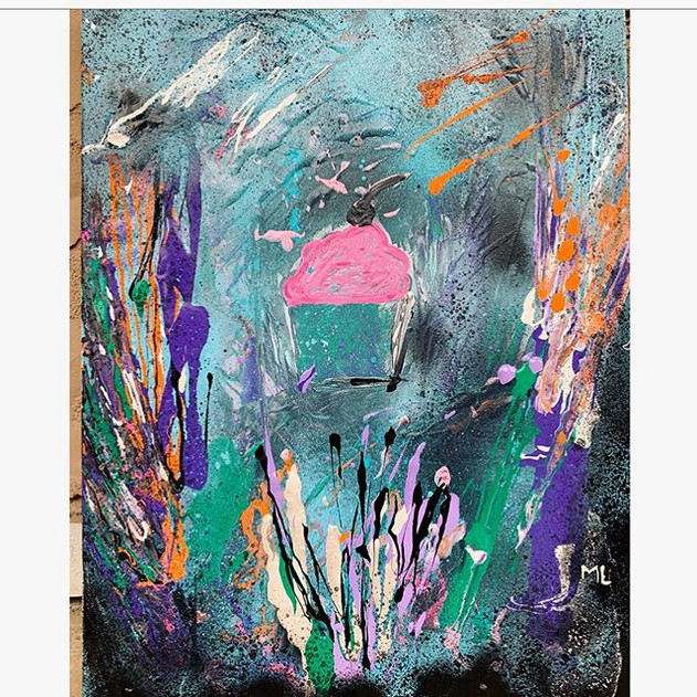 """My #abstractart is part of the """"Sweetest"""