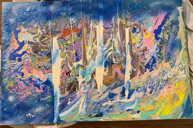 My #abstractart is part of my #universe